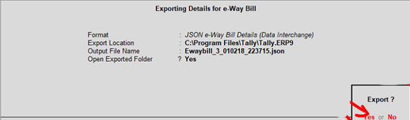 How to create E Bills in Tally2